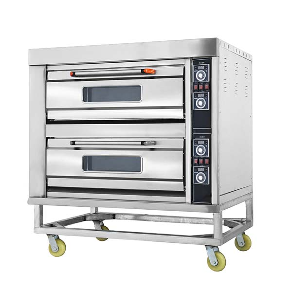 Electric Two Deck Four Tray Oven HGB-40D
