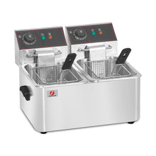 Load image into Gallery viewer, Double Electric Fryer (HEF-6L-2)