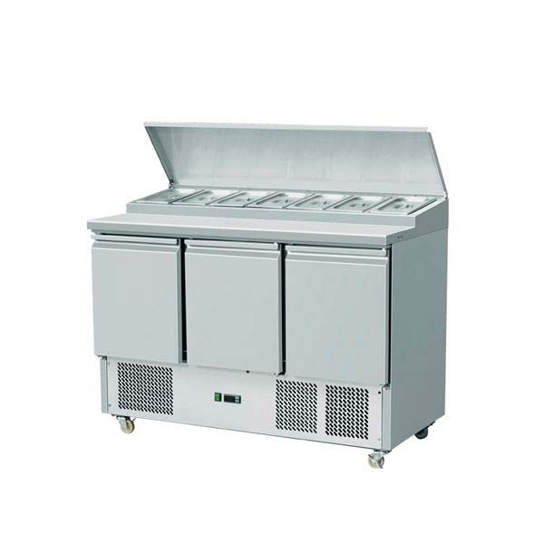 3 Door Saladattes/ Pizza Preparation Counter THPS-300
