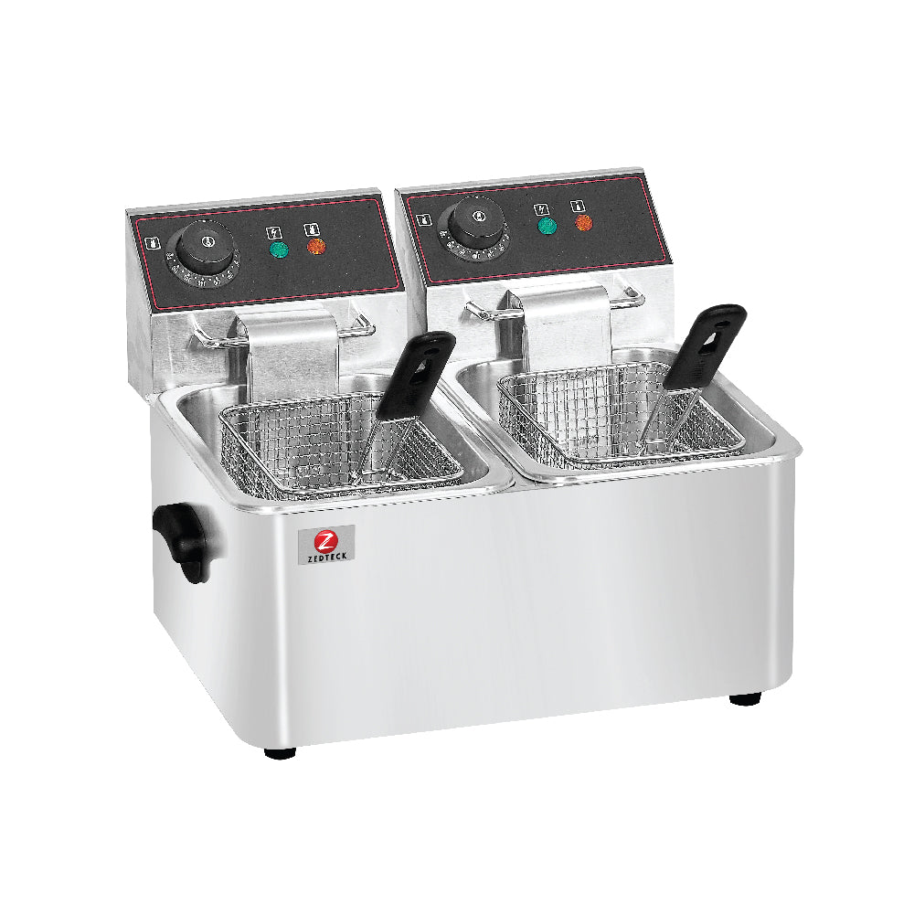 Double Electric Fryer HEF-4L-2