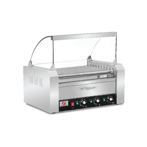Hot Dog Roller with Canopy (9 Rollers) HHD-09A