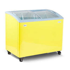 Curved Glass Top Freezer (KCD-318)