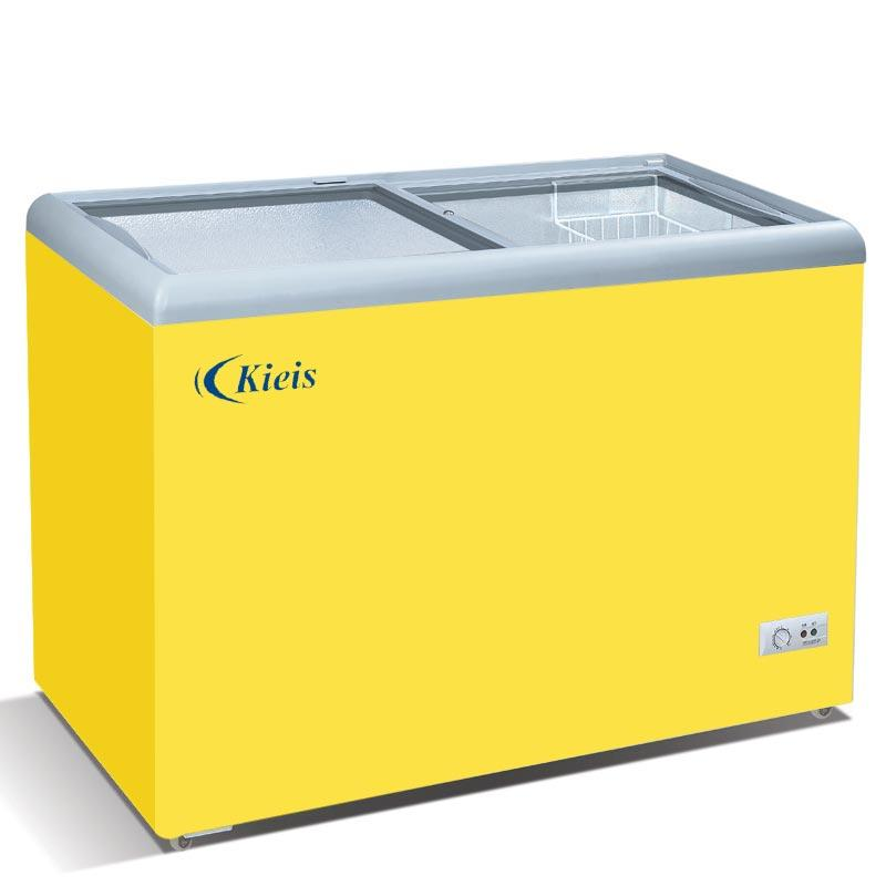 Flat Glass Top Freezer (KD-215)