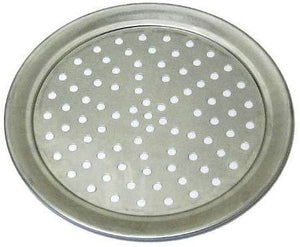 Wide Rimmed Pizza Tray (Aluminum)