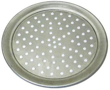 Perforated Wide Rimmed Pizza Tray (Aluminum)