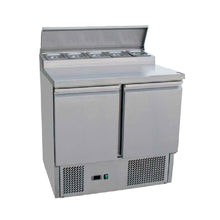Load image into Gallery viewer, 2 Door Saladattes/ Pizza Preparation Counter THPS-200