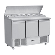 Load image into Gallery viewer, 3 Door Saladattes/ Pizza Preparation Counter THPS-300