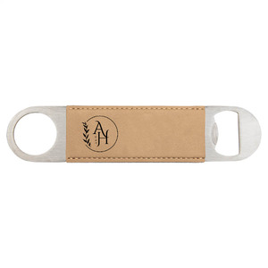 Leatherette Bottle Opener zakeke-design Corporate Engraving