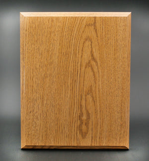 "UV Printed Wood Plaque Awards Corporate Engraving Oak (Light Brown) 9""x12"""