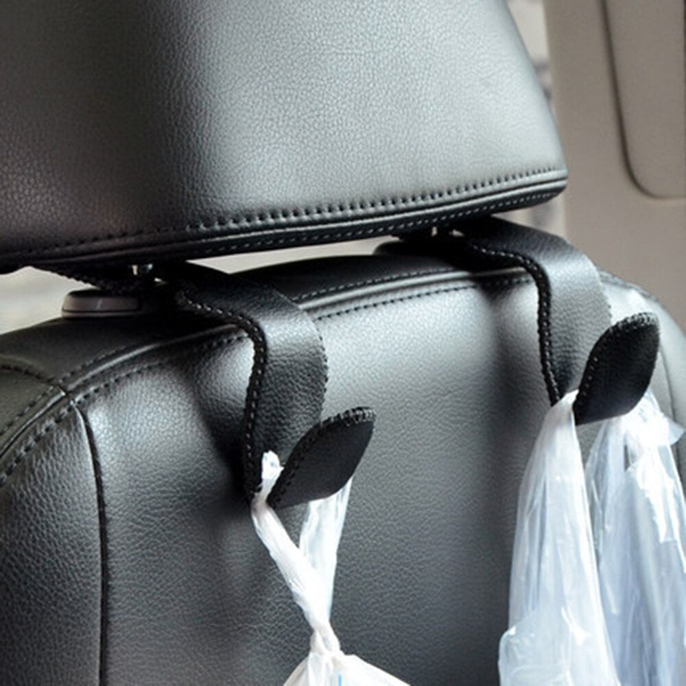 1 PCS Car Headrest Hook Clip Bags Auto Seat Back