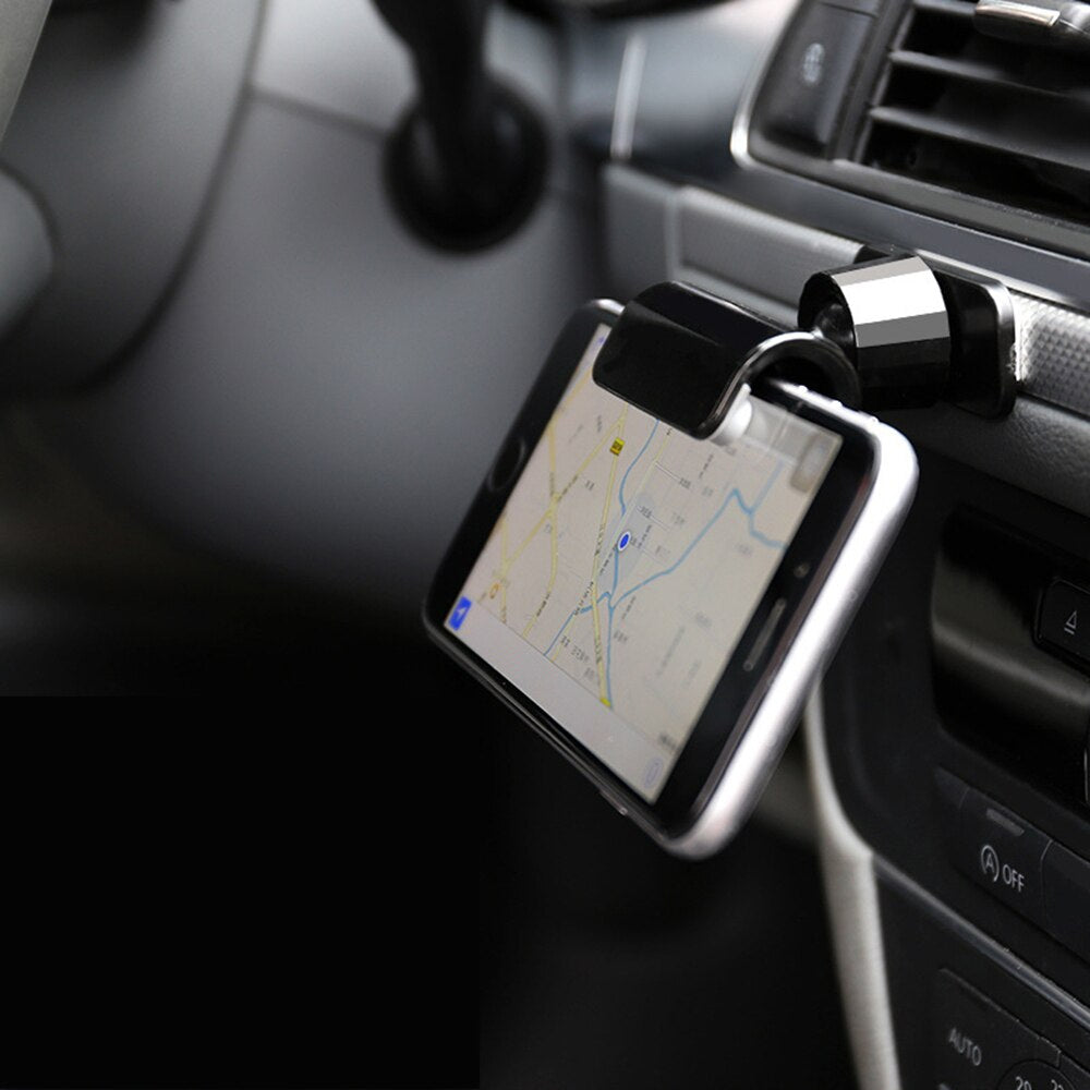 7inch 360 Degree Phone Bracket Car Phone Holder
