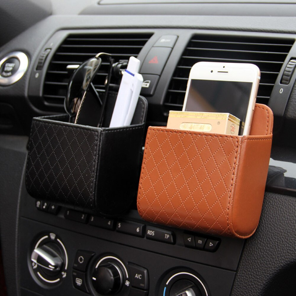 Car Styling Auto Vent Outlet Trash Box for Car