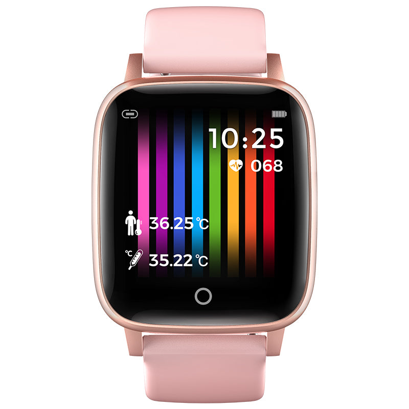 Health and Fitness: Body Temperature 24H Measurement, Heart Rate Fitness Tracker Android IOS