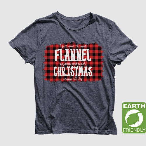 Eco Friendly Recycled Christmas Unisex T-Shirt