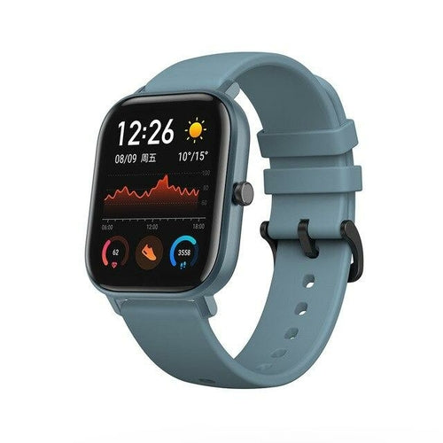 Smart Watch BT5.0 AMOLED Screen Heart Rate Sleep Wristband GPS+GLONASS