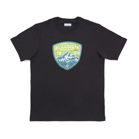 コロンビア メンズコットンTシャツ Columbia KLIPSON MOUNTAIN SHORT SLEEVE TEE SHIRTS SHARK J02632-011