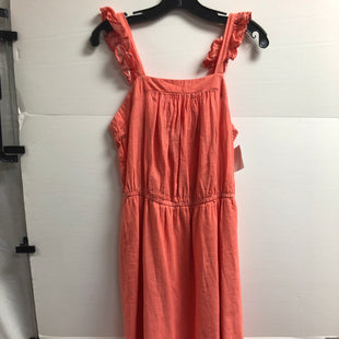 Primary Photo - BRAND: OLD NAVY STYLE: DRESS LONG SLEEVELESS COLOR: CORAL SIZE: S SKU: 269-26934-30223
