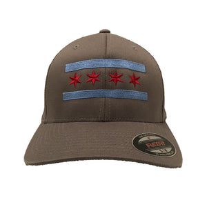 Chicago Flag Baseball Hat
