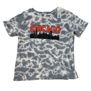 Chicago Skyline Tie Dye Tee