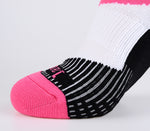 pink toe socks