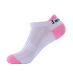 Laulax 4 pairs Ladies Professional Coolmax Running Socks, Achilles Tendon Protection, Size UK 3 - 8 / Europe 36 - 42, Gift Box