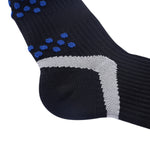 Laulax 4 Pairs Professional Coolmax Compression Massage Cycling Socks, Size UK 7 - 11 / Europe 41 - 46, Gift Set