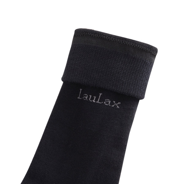 4 Pairs High Quality Finest Combed Cotton Suit Socks, Black Gift Box