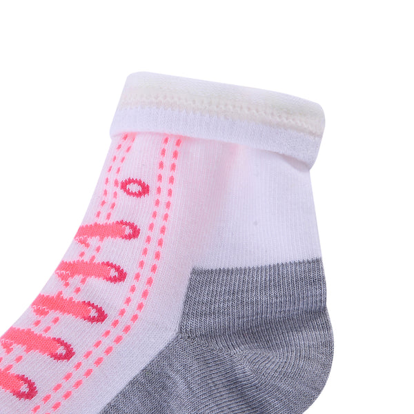 Shoes Design Laulax 6 Pairs Combed Cotton Girl's Socks Size UK 6-8.5/Europe 23-26 Gift Set