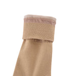 High Quality Formal Finest Combed Cotton Socks In Beige