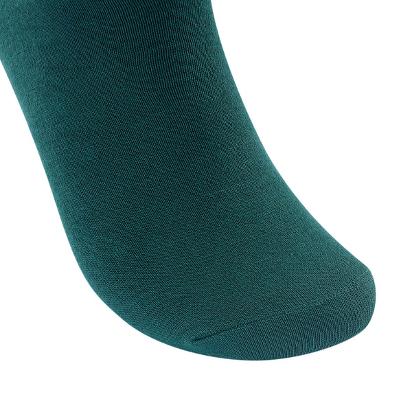 High Quality Formal Finest Combed Cotton Socks In Green