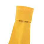 Laulax 4 Pairs High Quality Finest Combed Cotton Suit Socks in Yellow