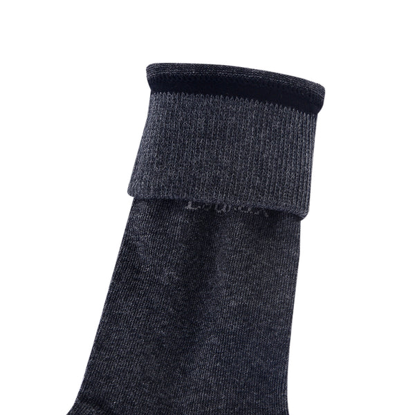High Quality Formal Finest Combed Cotton Socks In Anthracite