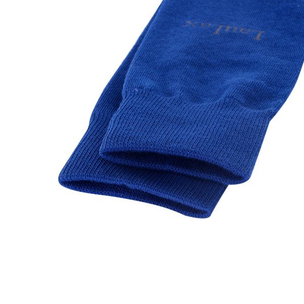 High Quality Formal Finest Combed Cotton Socks In Blue