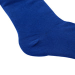 Laulax 4 Pairs High Quality Finest Combed Cotton Suit Socks, Blue