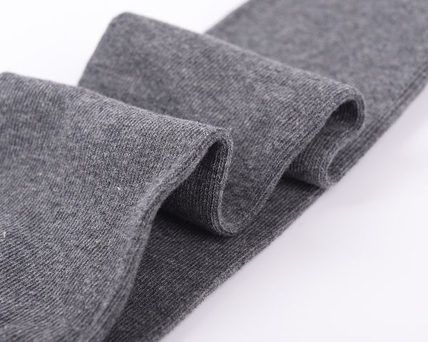 Laulax High Quality Finest Combed Cotton Over the Knee Socks- Grey