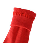 4 Pairs Finest Combed Cotton Business Socks, Red, Gift Bag