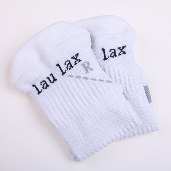 COOLMAX Professional Running Socks - Compression - White - Size UK 7 - 11