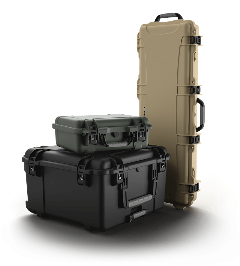 NANUK cases in Multiple Sizes to Protect Military Firearms and Equipment