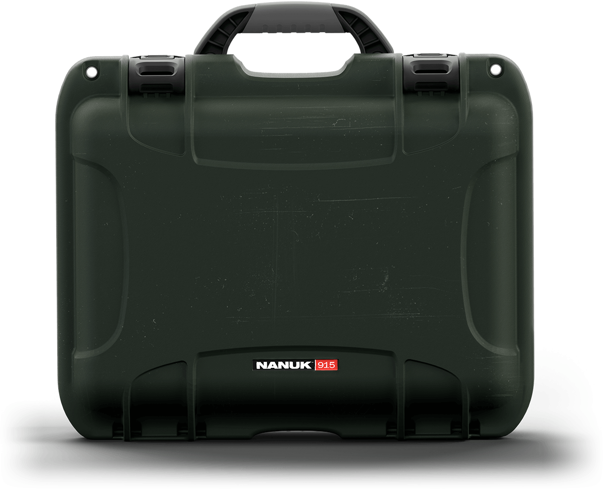 NANUK 915 in Olive Green to Protect Military Equipment