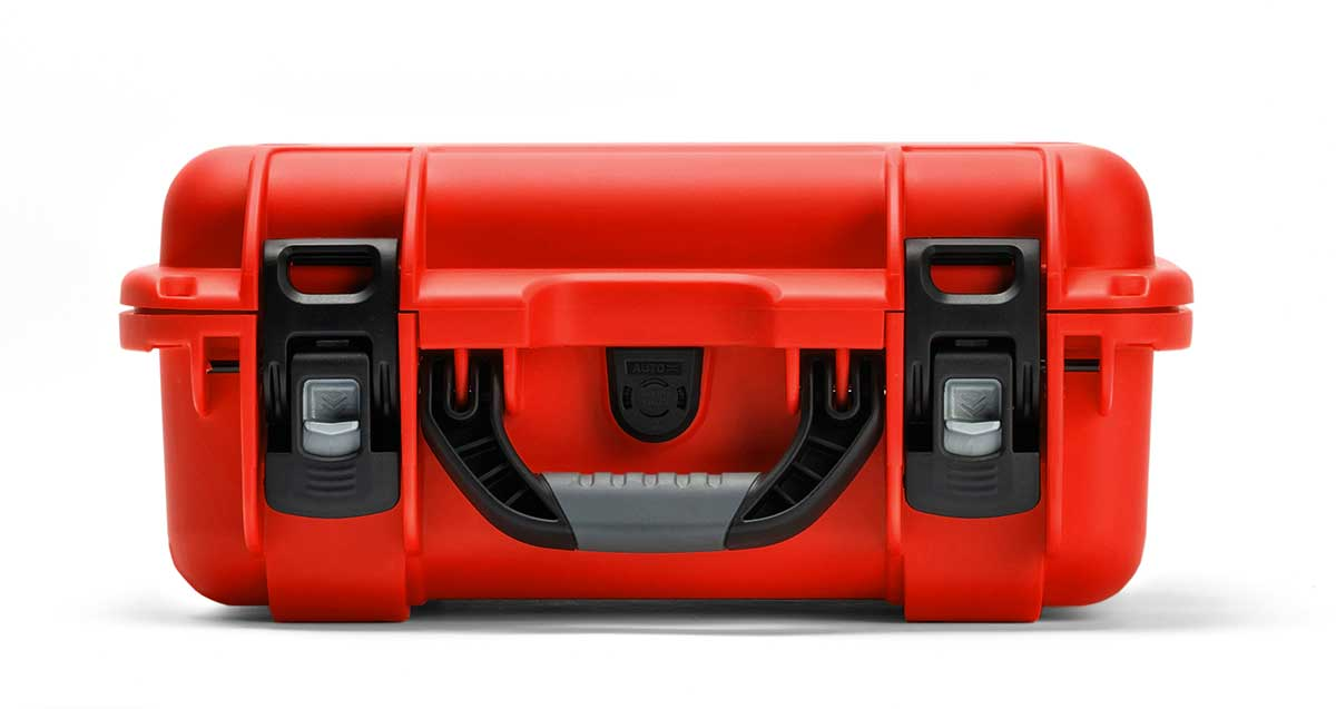 Red Case to Transport Emergency Medical Equipment