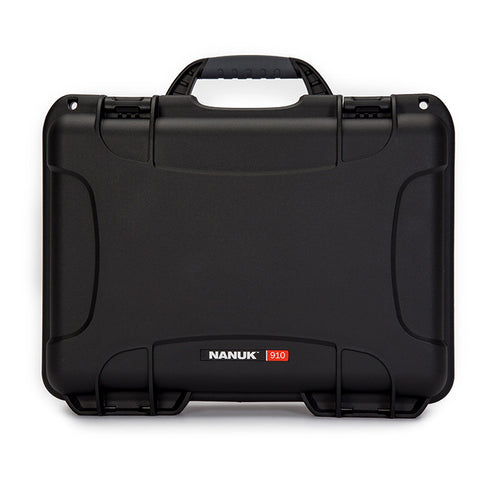 Built to organize, protect, carry and survive tough conditions, the NANUK 910 waterproof hard case is impenetrable and indestructible with a lightweight, tough NK-7 resin shell and its PowerClaw superior latching system.