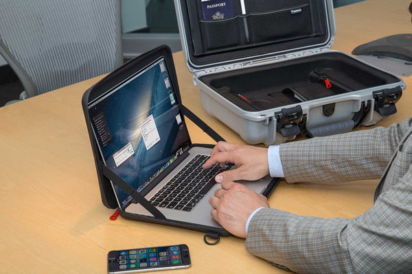 The included removable laptop sleeve offers an extra layer of protection and usability.