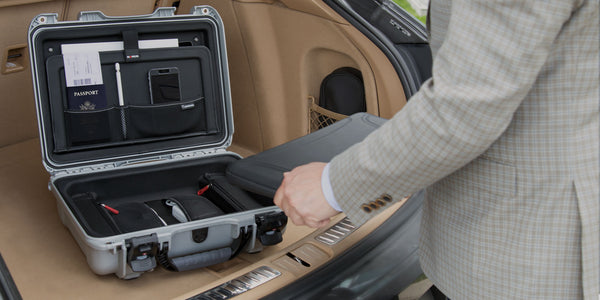 "Designed to fit most 15"" laptops, the NANUK 923 laptop case takes protection to a new level."
