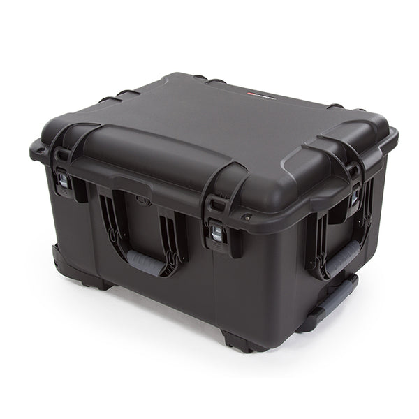 Three soft-grip handles make this wheeled case one of the most convenient and functional on the market.