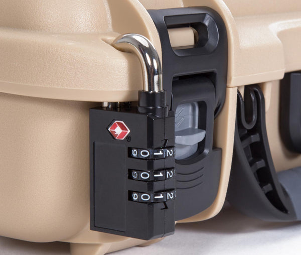 With NANUK's exclusive locking and latching system, your case stays shut and secured until you are ready to open it.