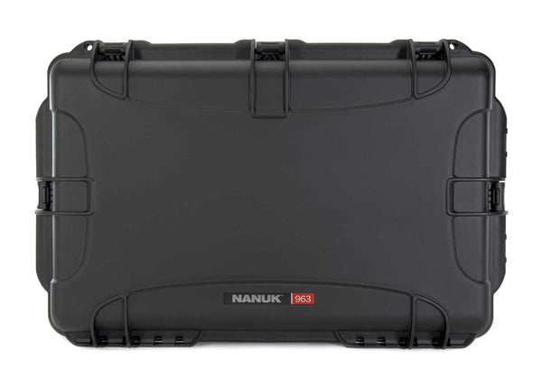 Built to organize, protect, carry and survive tough conditions, the NANUK 963 waterproof hard case is impenetrable and indestructible