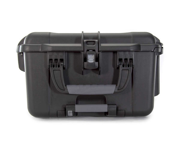 The NANUK 963 protective case comes with three (3) soft grip and ergonomic handles with stainless steel hardware and spring-loaded handles to keep them out of harm's way when traveling or during shipping.
