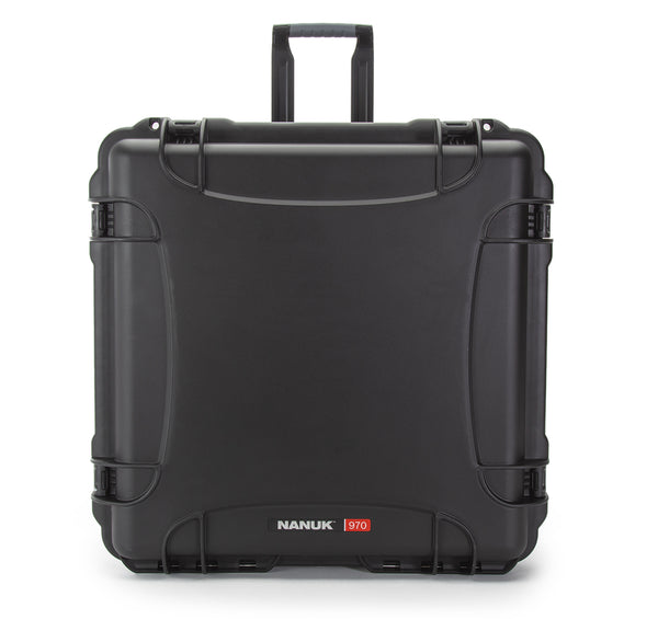 "Measuring 24x24x14.2"" inside, the NANUK 970 not only offers a maximum level of protection, but it also has a whole lot of storage capacity."