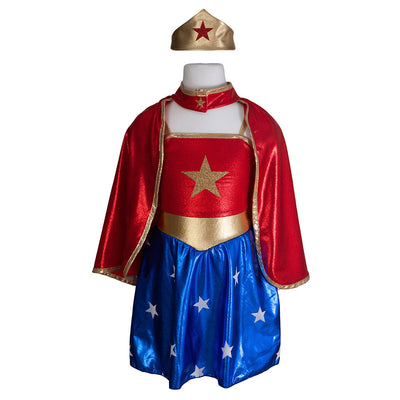 Costume de Wonder Woman-Déguisements-Great Pretenders-mombini.shop