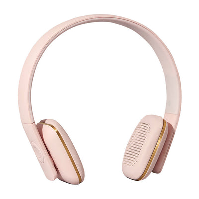 Casque Bluetooth aHead rose pastel-Casques-Kreafunk-mombini.shop